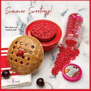 Pink Zebra Cherry Pie Simmer Pot and Jar